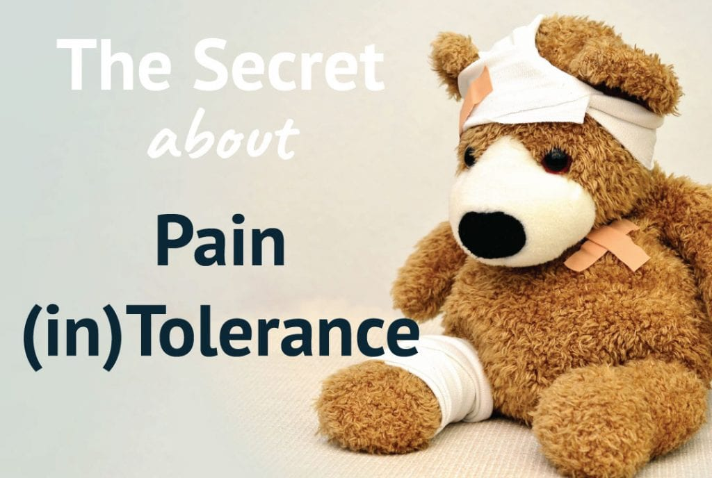 The Secret About Pain (in)Tolerance, Blog Post Written by Grant Clark, Owner of Hidden Warrior Yoga
